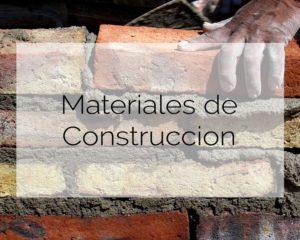 Materdial de Construcción