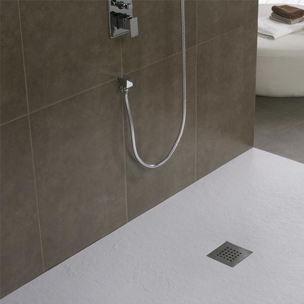 Plato de ducha Pizarra Blanco