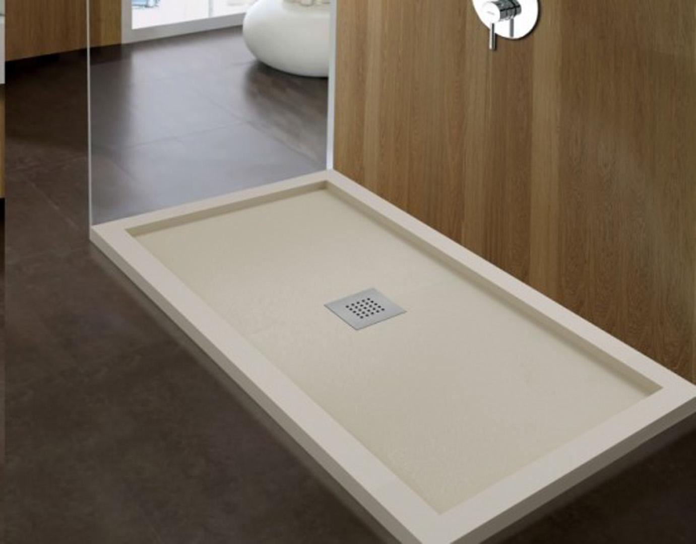 Plato de ducha pizarra enmarcado | Casa Maravilla