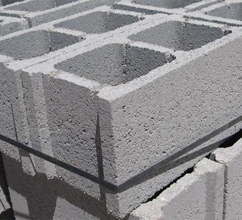 Material hormigón