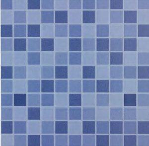 Azul Piscina 33 x 33